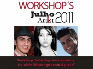 Workshop de Casting com actores dos Morangos com Açúcar